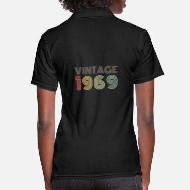 Vintage VINTAGE 1969 | Vintage 50th Birthday Gift - Women's Polo Shirt