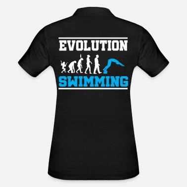 Swimming Pool Evolution swimming summer pool swimming pool - Women's Polo Shirt