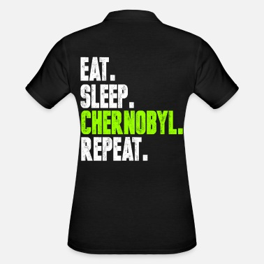 Nuclear Chernobyl Radioactive atomic environment gift - Women's Polo Shirt