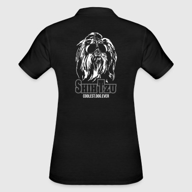 SHIH TZU coolest dog Wilsign's Dogs Gift Idea - Women's Polo Shirt