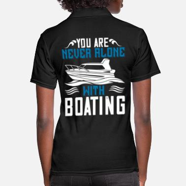Yacht Boating - Fun on the water - 50 - Women's Polo Shirt