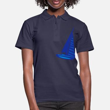 Sail Boat sailing boat - Women's Polo Shirt