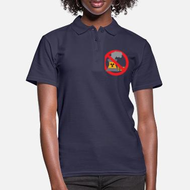 Anti Nuclear Power Anti nuclear power gift protest stop Castor - Women's Polo Shirt