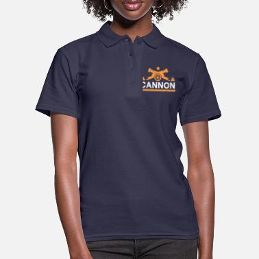 Cannonball Cannon gift cannonball fortress - Women's Polo Shirt