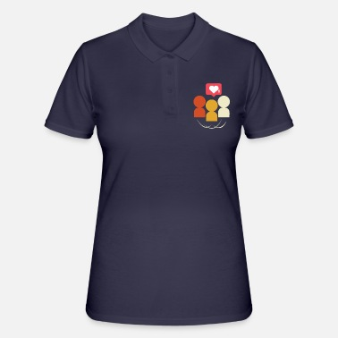 Sociale Social media-cadeau sociale media - Women's Polo Shirt