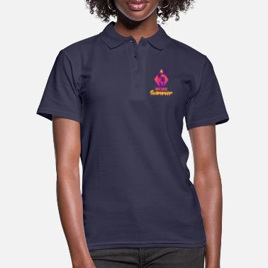 Sunglasses Summer palm trees Paradis | Summer palm trees - Women's Polo Shirt