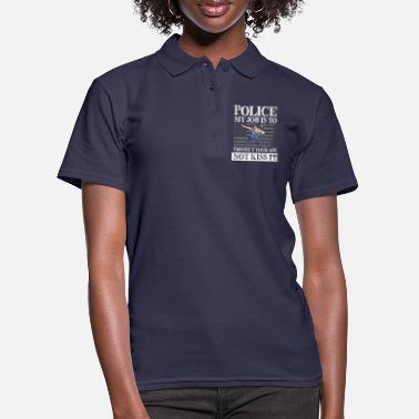Polizist Police my job is to protect - Frauen Poloshirt