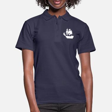 Sailing Sailing Ship Pirate Ship Gift T-Shirt - Women's Polo Shirt