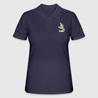 Boarder Snowboard. Boarder. deportes de invierno - Women's Polo Shirt