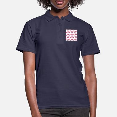 Illustration Regenbogenmuster - Frauen Poloshirt