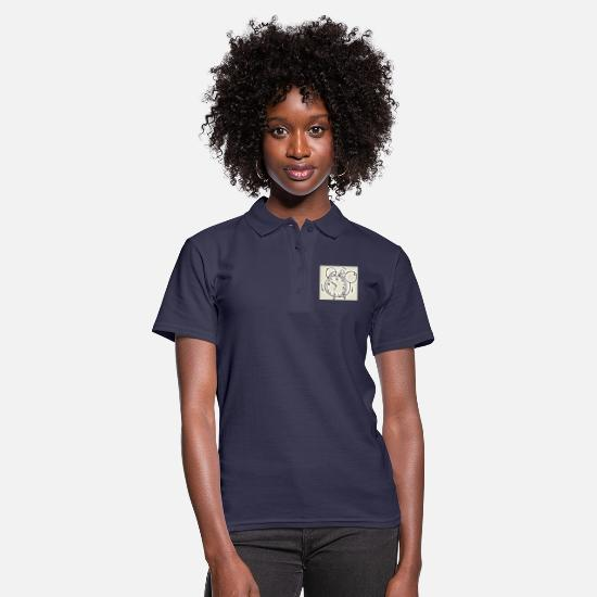 Alarm Clock Polo Shirts - alarm clock - Women's Polo Shirt navy