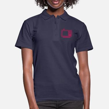Tv tv tv tv - Women's Polo Shirt