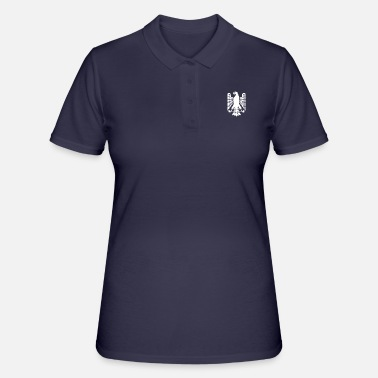 German Eagle The german eagle in white - Women's Polo Shirt