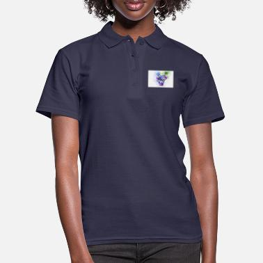 grapes, fruit, colorful fruit - Women's Polo Shirt