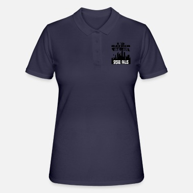 Sioux Gift Id rather be in Sioux Falls - Women's Polo Shirt