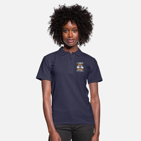 Play Polo Shirts - Musician Shirt · Brass Music · 3 days a week - Women's Polo Shirt navy