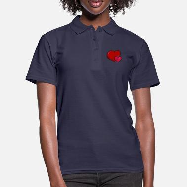 Heart Heart to heart heart to heart - Women's Polo Shirt