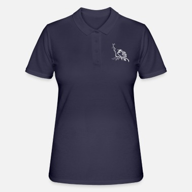Bird Birds bird flock of birds gift bird lovers - Women's Polo Shirt