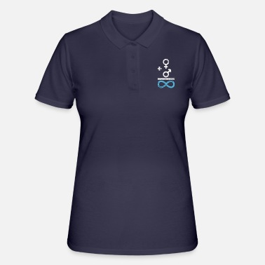 Chicos chica chico - Camiseta polo mujer