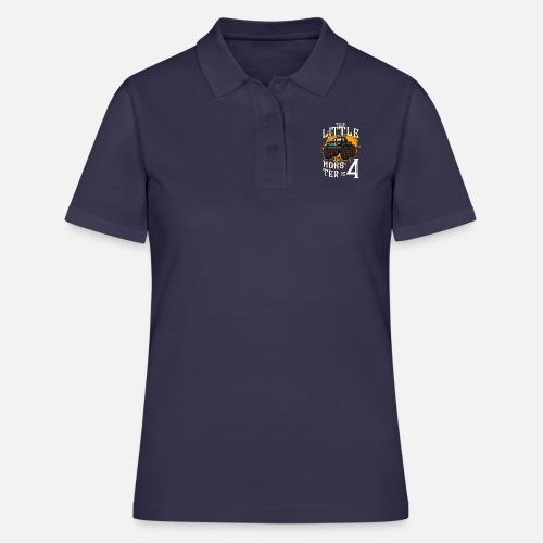 Monster Truck Geburtstagsgeschenk 4 Jahre Frauen Poloshirt Spreadshirt