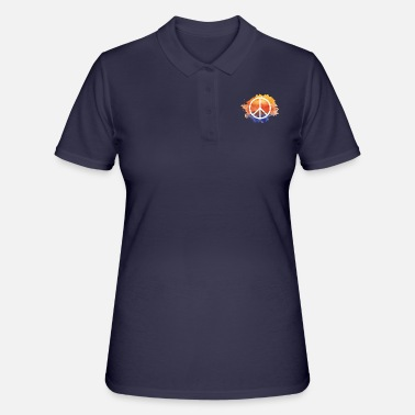 Symbol Symbol peace gift world peace hippie - Women's Polo Shirt