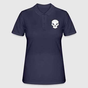 Hacker Skull - Women's Polo Shirt