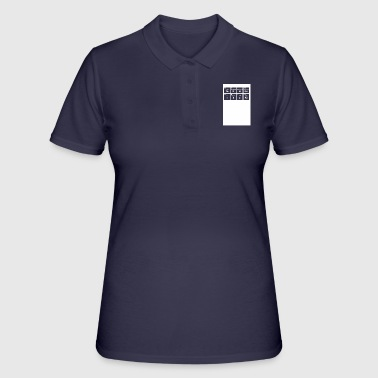 Periodensystem Periodensystem - Women's Polo Shirt