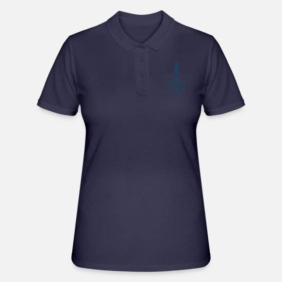 Gift Idea Polo Shirts - Healthy and sporty - Women's Polo Shirt navy