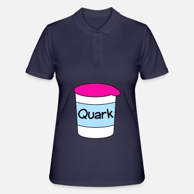 Quark Quark mug, cartoon - Women's Polo Shirt