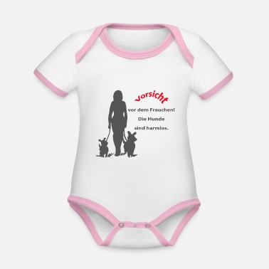 Mistress Beware of the mistress - Organic Baby Contrasting Bodysuit