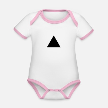 Triangle triangle - Organic Baby Contrasting Bodysuit