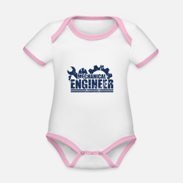 Engine Engineering Engineers Engineers Profession Engineering - Organic Contrast Baby Bodysuit