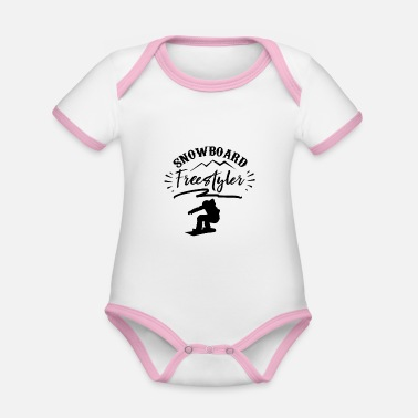 Freestyle Freestyle - Organic Contrast Baby Bodysuit