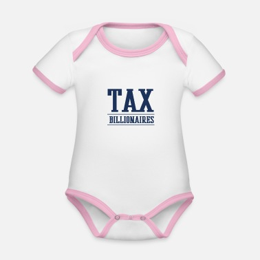 Wealth wealth tax - Organic Contrast Baby Bodysuit