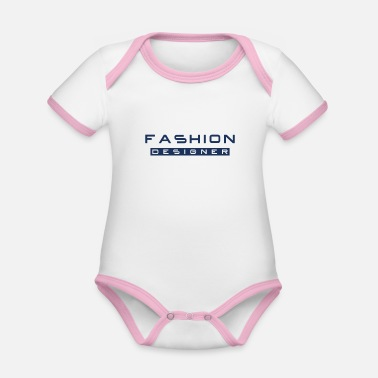 Fashion Design fashion fashion design fashion designer fashion - Organic Contrast Baby Bodysuit