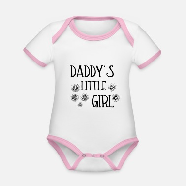 Daddy's Girl DADDY'S LITTLE GIRL - Baby Bio Kurzarmbody zweifarbig