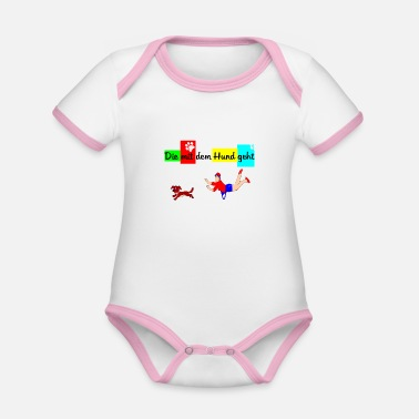 Mistress The flying mistress - Organic Baby Contrasting Bodysuit