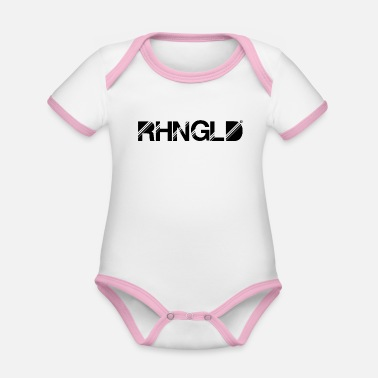 Night Club Rheingold RHNGLD Night Club - Organic Contrast Baby Bodysuit