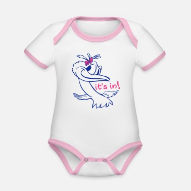 Ducks lady - Body neonato bicolor