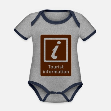 Tourist Toerisme,Tourist Information,Sight Seeing - Rompertje tweekleurig