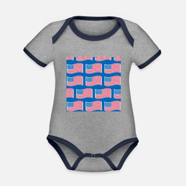 We Are Boston usa - Organic Contrast Baby Bodysuit