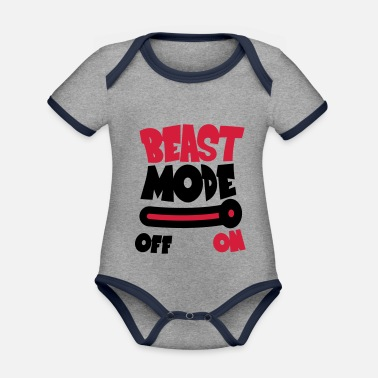 Mode Beast Mode On - Rompertje tweekleurig