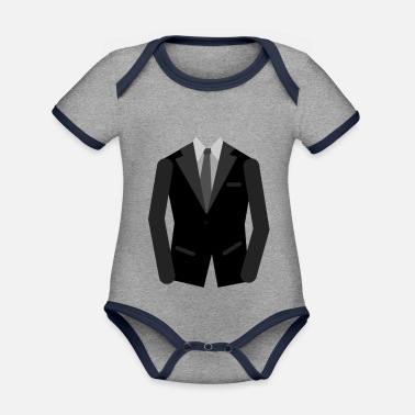Occasion A suit for every occasion - Organic Contrast Baby Bodysuit
