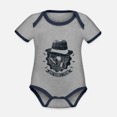Style Style - Organic Contrast Baby Bodysuit