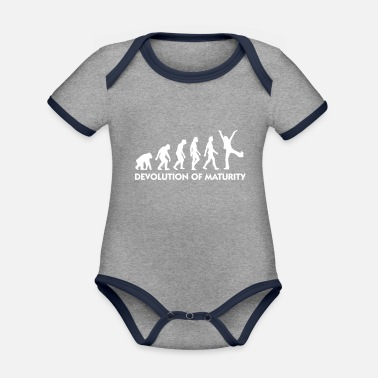 Mature The Evolution Of Maturity - Organic Contrast Baby Bodysuit