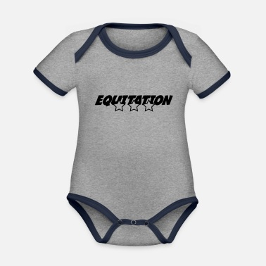 Equitation Equitation - Organic Contrast Baby Bodysuit