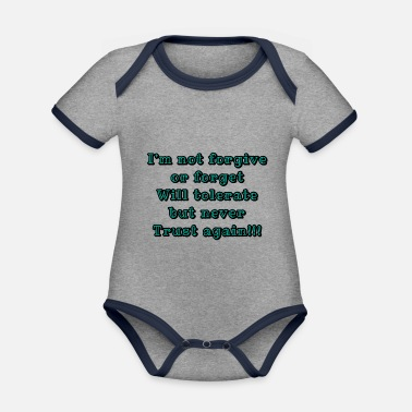 Motto Motto of life - Organic Contrast Baby Bodysuit