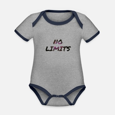 No Limit No Limits / No limit - Organic Contrast Baby Bodysuit