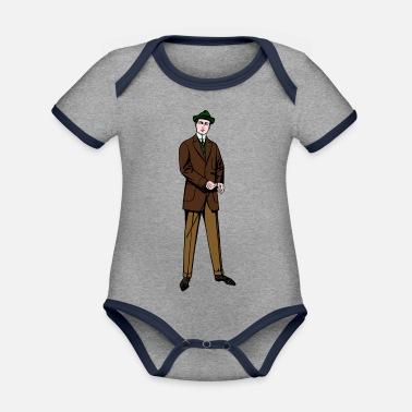 a6ebcdeec Trajes traje - Body con contraste bebé