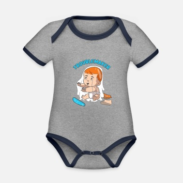 Babykrop med sød rascal design Baby T shirt | Spreadshirt